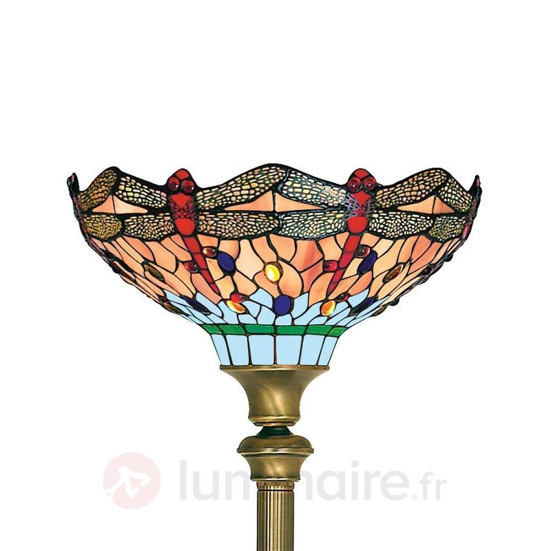 Lampadaire de style Tiffany DRAGONFLY