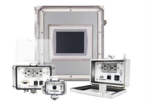 Panel interface Connectors - Cabinet interface connector/ Sicherer Spannungsschutz für Schaltschränke
