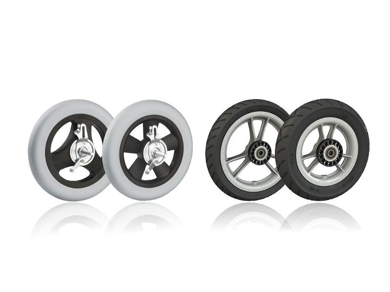 Wheelchair Wheels - Our wheels for wheelchairs and other rehabilitation devices