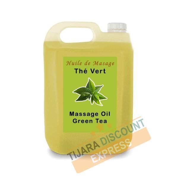 Huile De Massage Thé Vert En Vrac - Huiles de massage en vrac
