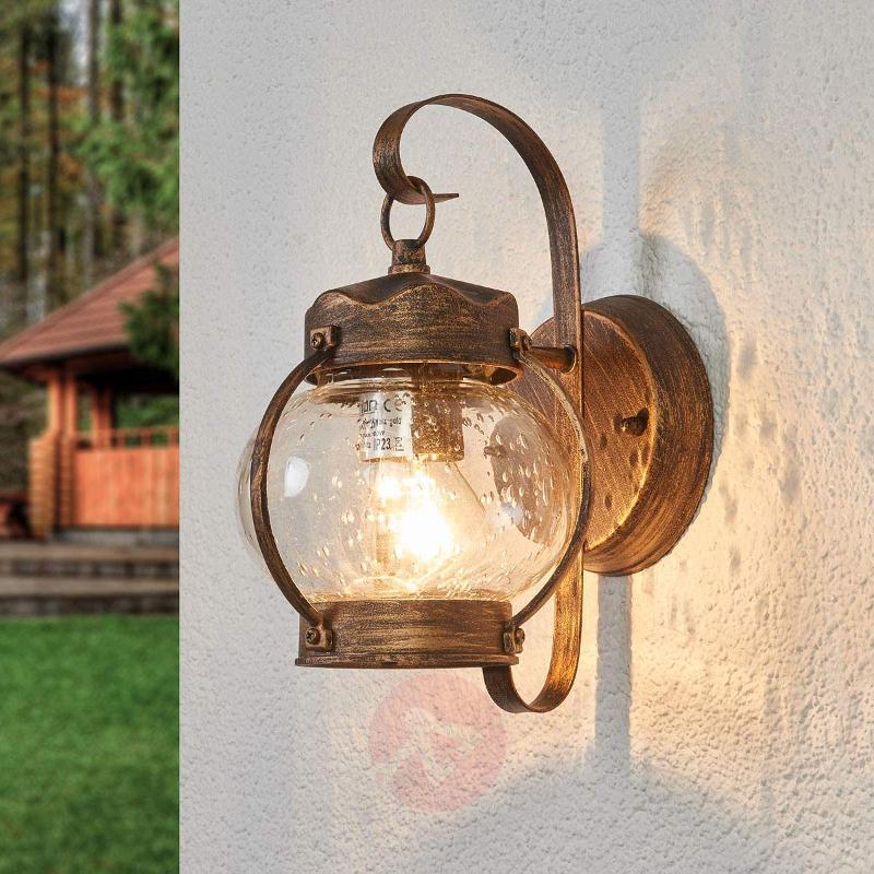 Bulbous Outdoor wall light Marguerite - Outdoor Wall Lights