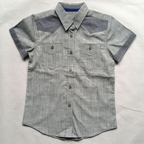 с коротким рукавом рубашки для мальчиков