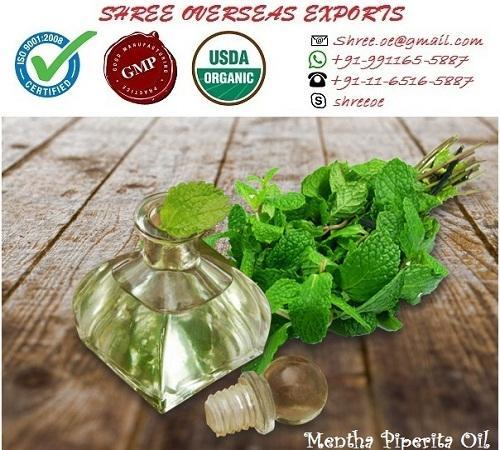 Organic Mentha Piperata Oil - USDA Organic