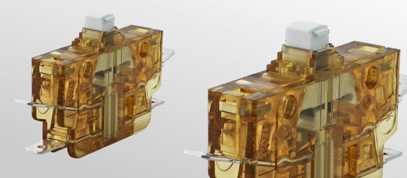 Schnappschalter S926 - Schnappschalter mit robusterem Gehäuse aus Polyetherimid (PEI)