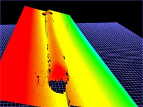 Measurement of Aluminum/Steel Ingots before Scalping - Case Study: non-contacting measurement solution