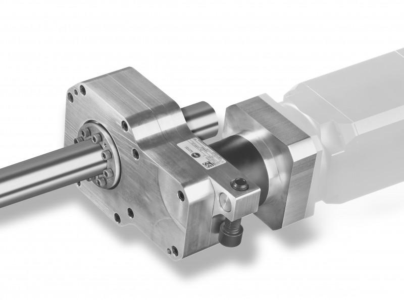 Hollow Shaft Gear E-SP 136-H - it is based on a planetery gear in combination with a spur gear