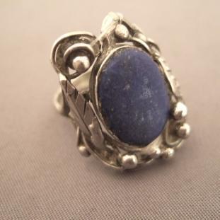 Bagues - Argent, Lapis lazuli, USA
