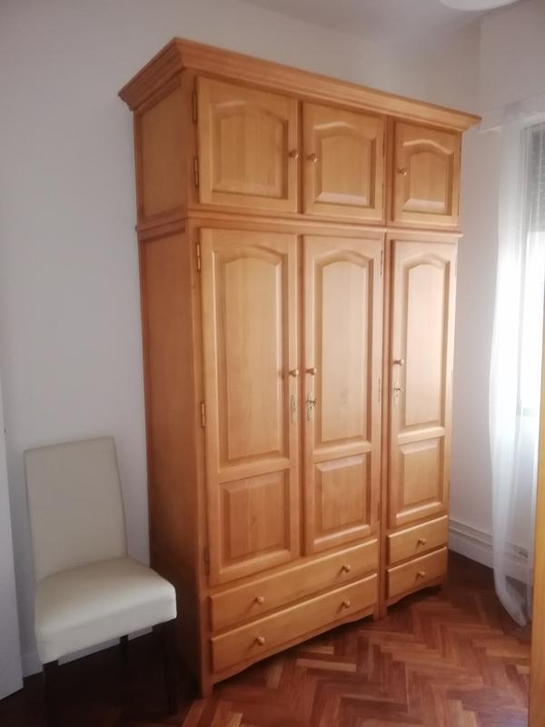 Armario Grande Para Dormitorio En Madera De Pino - null