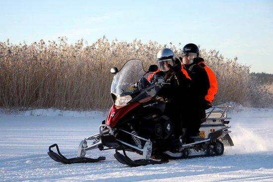 Motoneige à Helsinki - Tour guidé