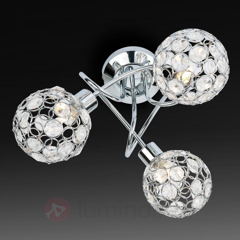 Plafonnier halogène à trois lampes Carlo - Tous les plafonniers