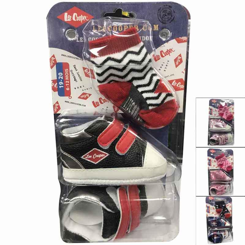 Wholesaler clothing socks licenced Lee Cooper baby - Socks