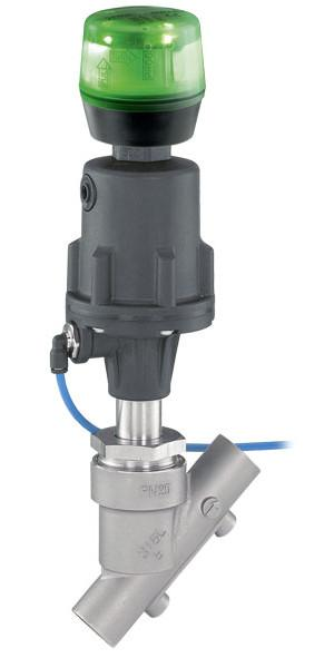 Valvola di regolazione GEMÜ 554 - Valvola a piattello ad azionamento pneumatico