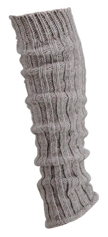 "2354 - Coarse-Knit Leg Warmers ""Alpaca"" - Beautiful leg warmers with high wool and 15% alpaca wool. Fluffy and soft."