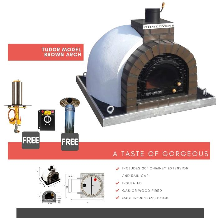 Tudor Model  - Wood or gas ovens