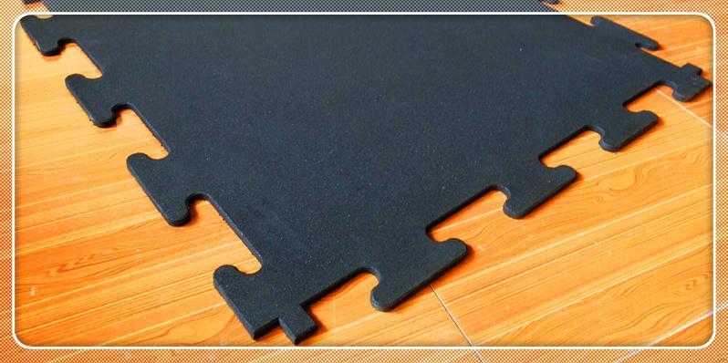 Interlocking EPDM Rubber Tiles - Todobelt Interlocking EPDM Rubber Tiles are the good choose for indoor crossfit