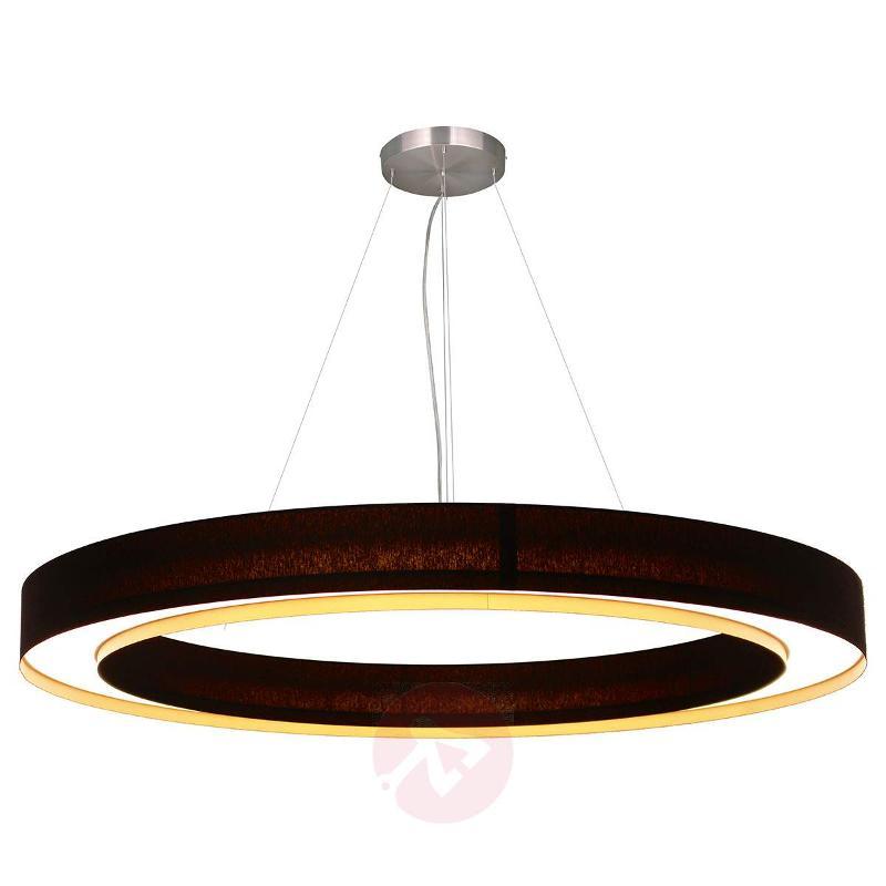 Ring-shaped LED pendant lamp Cloud - Pendant Lighting