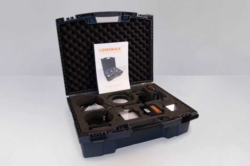 Sample case for LED lighting for Machine Vision - Sample case for LED lights suited to your laboratory equipment (Machine Vision)