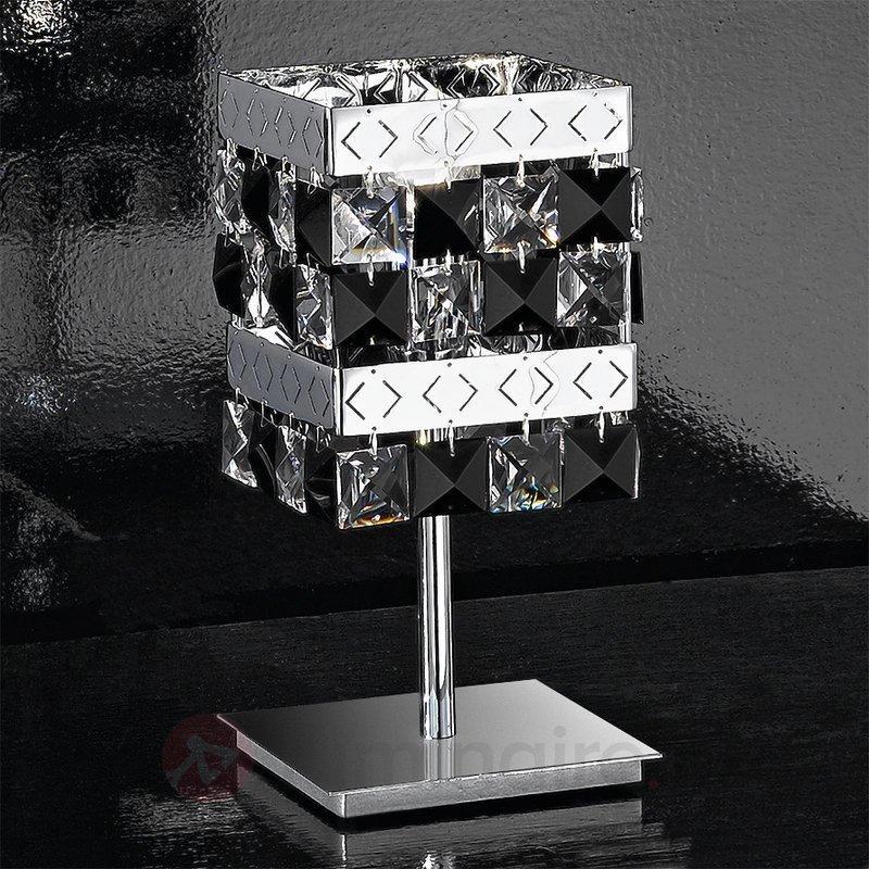 Belle lampe à poser Prince - Lampes à poser en cristal