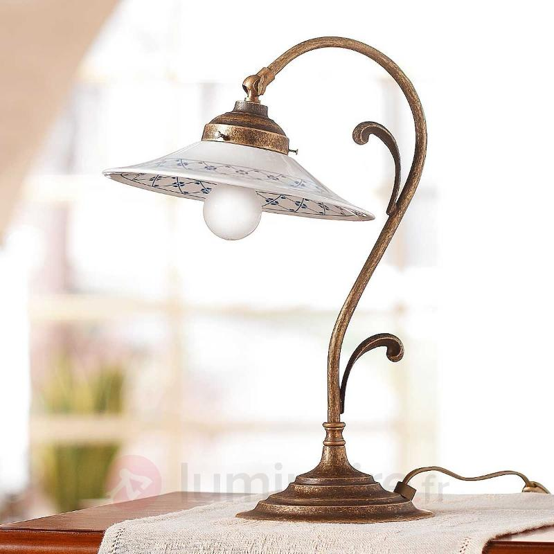 Très belle lampe à poser ORLO - Lampes à poser rustiques