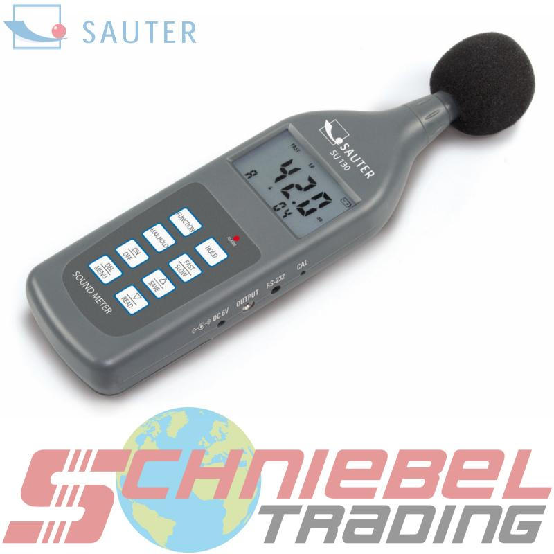 Professionelles Schallpegelmessgerät, Klasse II [Sauter SU]