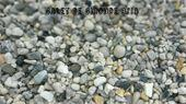 Graviers - Galet de gironde : Gravier de finition roulé blanc/gris/jaun