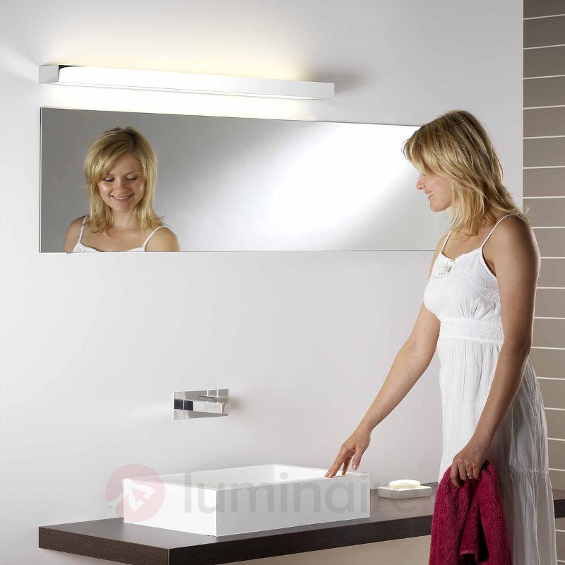 Applique salle de bain TALLIN 1200 aspect chrome - Salle de bains et miroirs