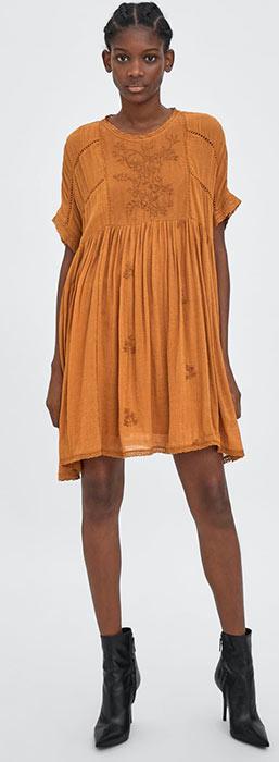 short cotton dress - cotton dress