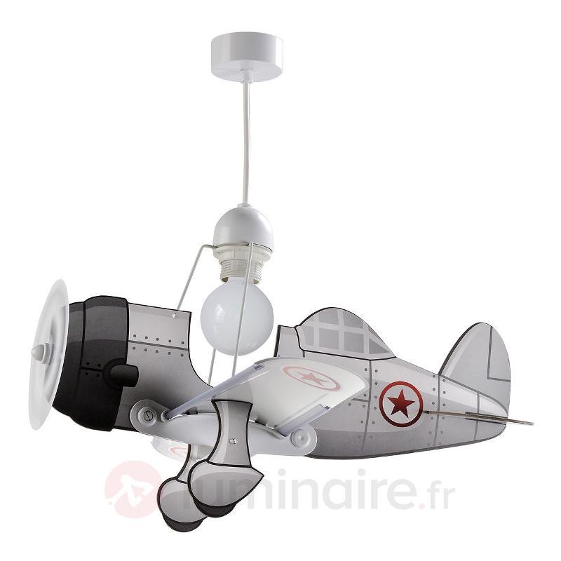 Suspension avion Airplane, gris - Chambre d'enfant