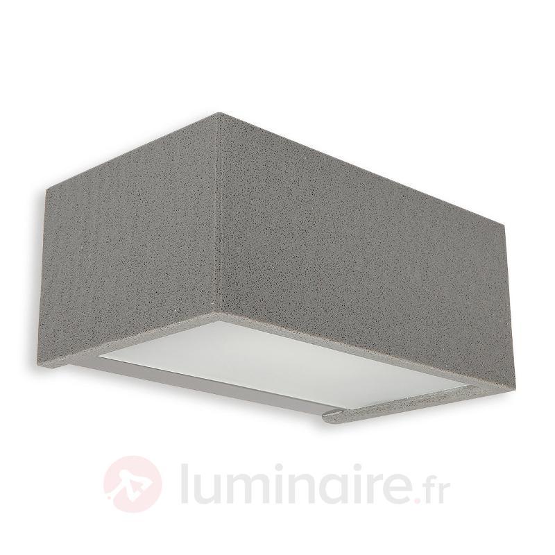 Applique extérieure LED Rock 22,4 cm - Appliques d'extérieur LED
