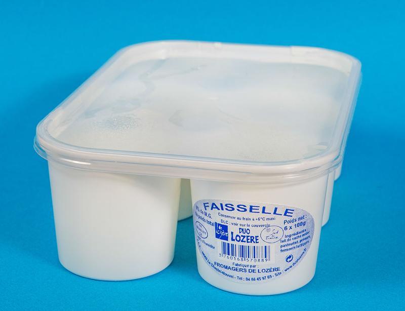 faisselles 6X100g - Produits laitiers