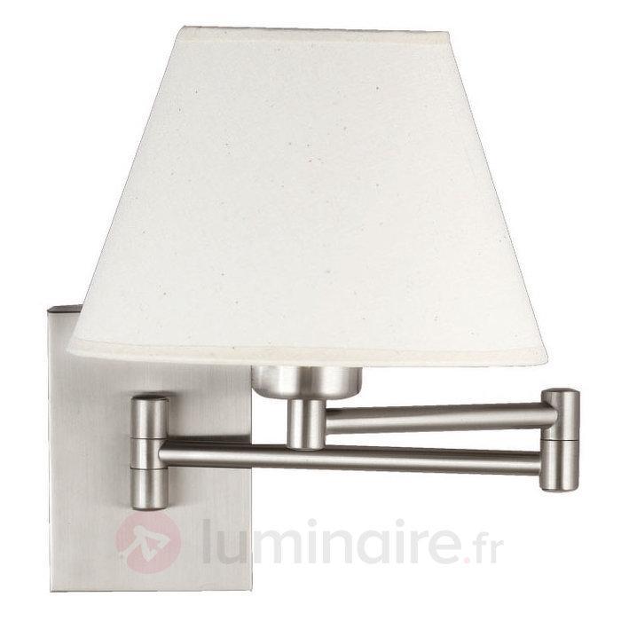 Applique ajustable Daisy nickel mat - Appliques chromées/nickel/inox