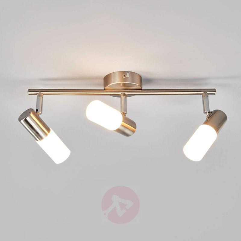 3-bulb LED ceiling light Cristiano - indoor-lighting