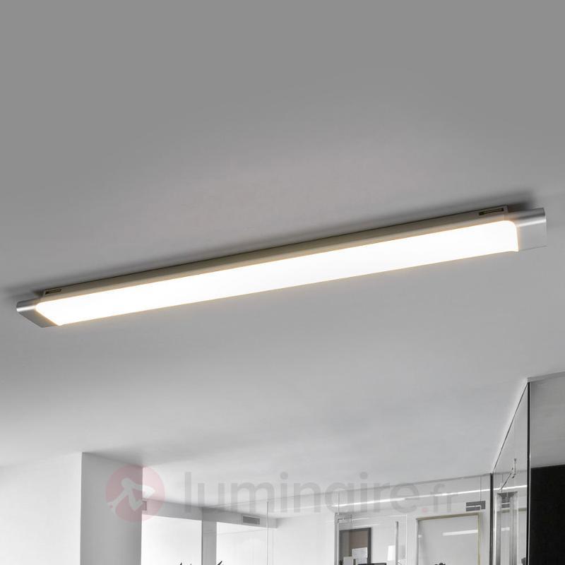 Plafonnier LED pratique Vinca, 90 cm - Plafonniers