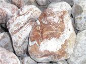 Galets - galet arabescato 100/200 : galet gris orangé