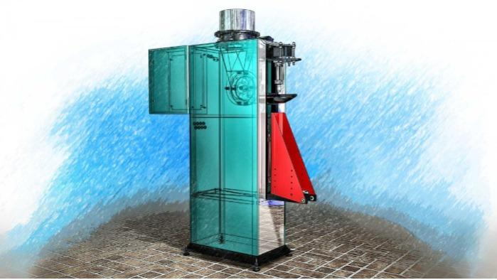 旋轉配料機DFSM-RP - 設計用於包裝散裝,粉狀等。