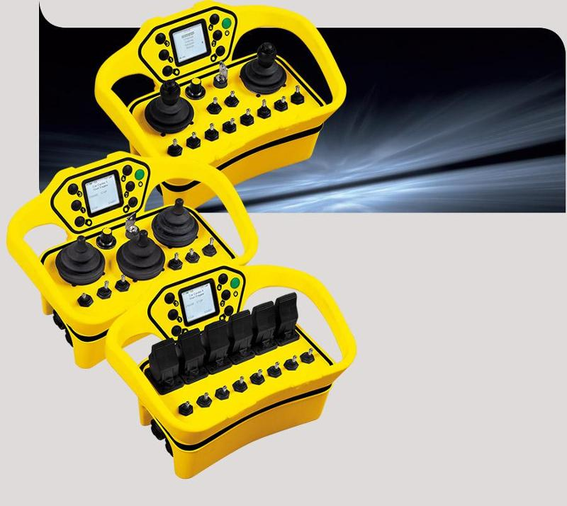 Joysticks radio remote control