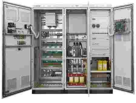 Compact control system. - KONreg SHP 100 for small hydro power plant