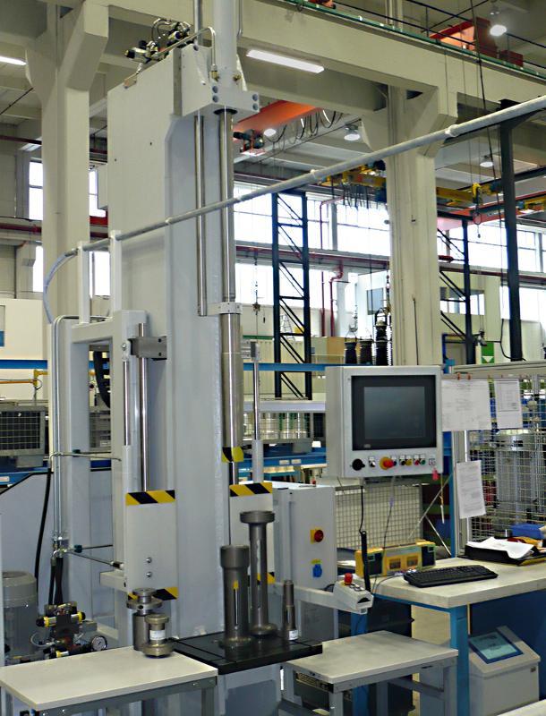 C-frame assembly presses - Assembly technology