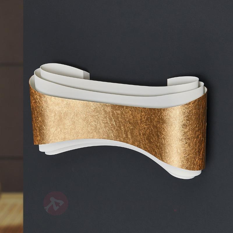 Elégante applique design Ionica bande dorée - Appliques design