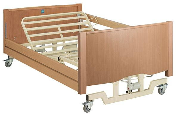 Bradshaw Bariatric Nursing Bed - Robust, sturdy and electrically profiling bariatric nursing bed