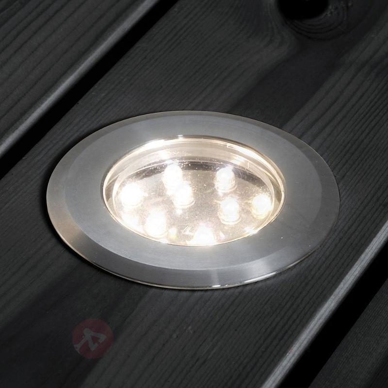 Set de spots de sol encastrables MINI LED - Luminaires LED encastrés au sol