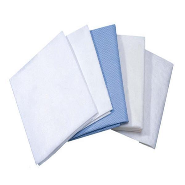 Drap de lit / couverture et oreiller - blanc et bleu ou personnalisé 60/70 / 80cm x 200m ou personnalisé