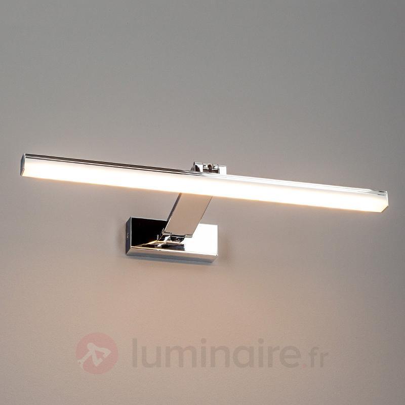 Applique à tableaux LED Leonid chromée - Appliques à tableaux