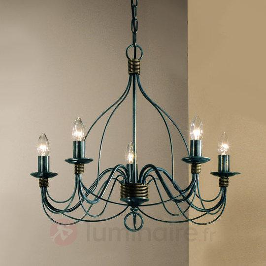 Lustre FILO à 5 ampoules - Lustres rustiques