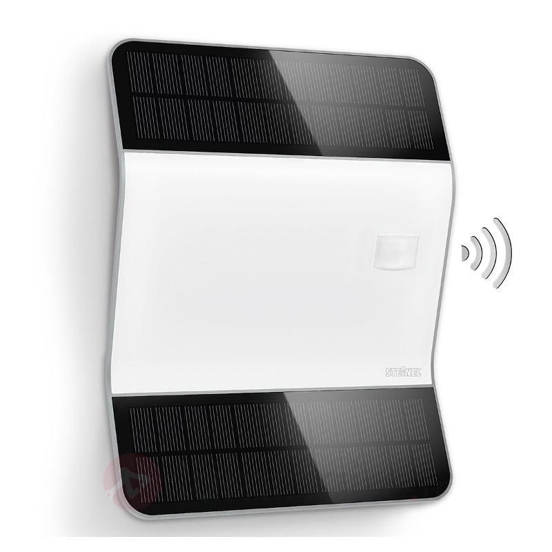 Éclair. n° de maison LED clair XSolar L2-S argenté - Numéros de maison lumineux