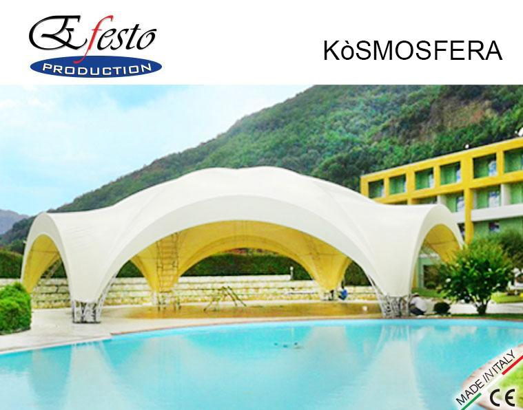 KÒSMOSFERA - Beautiful and elegant forms for large spaces coverage