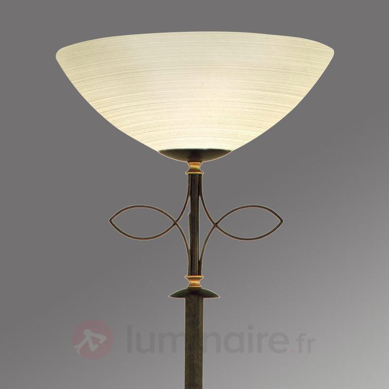 Lampadaire à éclairage indirect BELUGA - Lampadaires rustiques