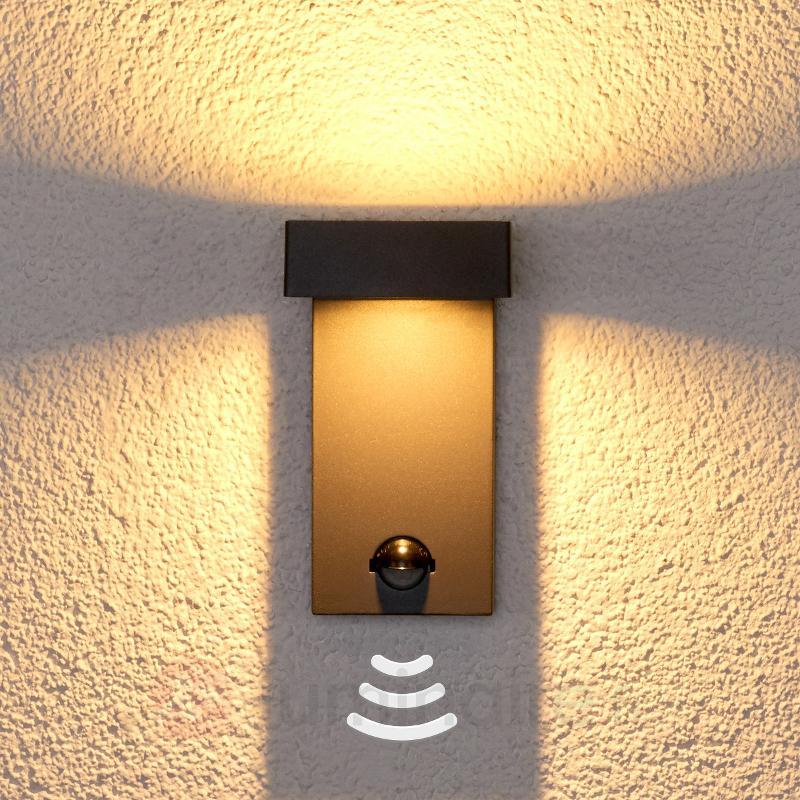 Applique à détecteur Toska pour extérieur, LED - Appliques d'extérieur avec détecteur