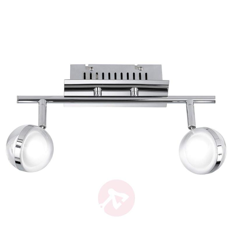 Fulton LED ceiling light with 2 bulbs - Ceiling Lights