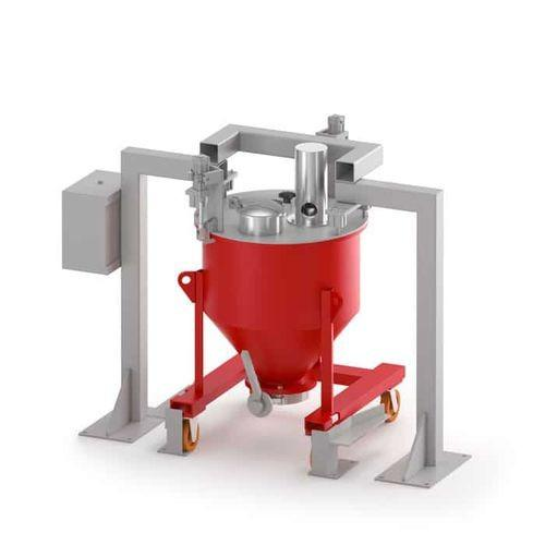 MIXACO Container Charging Station - MIXACO charging station is used for dust free filling of the mixing containers.
